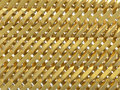 Golden weaved abstract background Royalty Free Stock Photo