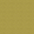 Golden woven background texture seamless tilable Royalty Free Stock Photography