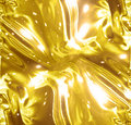 Golden wrapping paper or satin texture Royalty Free Stock Photo