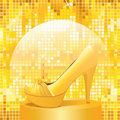 GoldenShoe Stock Photography