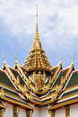 GoldenThai church Stock Image