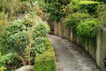 Golders hill park photo of a path in in london Royalty Free Stock Image