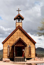Goldfield Church Royalty Free Stock Photo