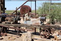 Goldfield Ghost Town and Mine Royalty Free Stock Photo