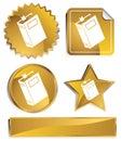 Goldish - Book Royalty Free Stock Photo