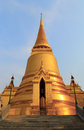 Goldstupa Stockbild