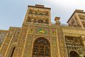 Golestan palace exterior edifice of the sun tower royal oldest groups buildings in persian capital was rebuilt to its current form Stock Images