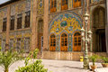 Golestan palace tehran historic buildings in Royalty Free Stock Photos