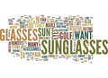 Golf Accessories In The Form Of Eyewear Word Cloud Concept Royalty Free Stock Photo