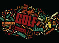 Golf As It Was Word Cloud Concept Royalty Free Stock Photo