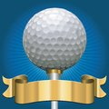 Golf award Royalty Free Stock Images