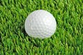 Golf ball close up Stock Photos