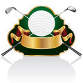 Golf baroque Royalty Free Stock Image