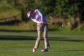 Golf Bregman Swing Strike Ball Royalty Free Stock Photo