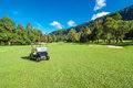 Golf Car Royalty Free Stock Photo