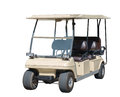 Golf car. Royalty Free Stock Photo