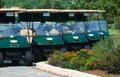 Golf Carts for rent Stock Photos