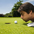 Golf club Royalty Free Stock Photo
