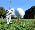 Golf Concept Royalty Free Stock Photography