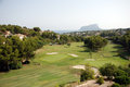 Golf course on the Costa Blanca Stock Photos