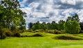Golf course. Royalty Free Stock Photo