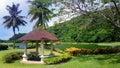 Golf course small alcove on the borneo malaysia Stock Photo