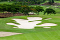 Golf Courses Royalty Free Stock Photo