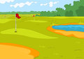 Golf Field Royalty Free Stock Image