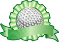 Golf ribbon Stock Images