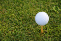 Golf Tee Royalty Free Stock Photo