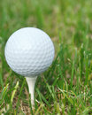 Golf tee three Royalty Free Stock Image