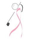 Golfer - Breast Cancer