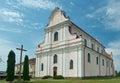 Golshany, Belarus the monastery.