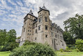 Goluchow Castle, early Renaissance castle in Poland. Royalty Free Stock Photo