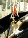 Gondola detail Royalty Free Stock Photo