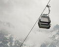 Gondola in the Rocky Mountains Royalty Free Stock Photos