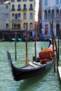 Gondola in Venice Royalty Free Stock Images