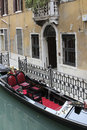 Gondola in venice the iconic gondolas italy Stock Image