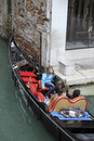 Gondola in venice the iconic italy Royalty Free Stock Photos