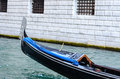 Gondola in Venice Italy Royalty Free Stock Photo