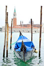Gondola in venice italy europe Royalty Free Stock Photography