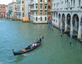 Gondola in venice photo of a and venetian architecture photo useful for highlighting tourism architecture holiday destinations etc Stock Image