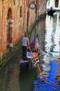 Gondola in Venice Royalty Free Stock Photo