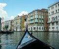 Gondola Grand Canal Venice Royalty Free Stock Photo