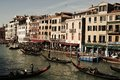 Gondolas, architecture, Grand Canal, Venice, Italy, Europe Royalty Free Stock Photo