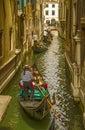 Gondolas in Venice. Royalty Free Stock Photo