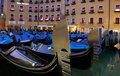 Gondolas in Venice Royalty Free Stock Photo