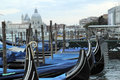 Gondolas in venice the iconic italy Royalty Free Stock Photos