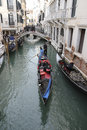 Gondolas in venice the iconic italy Stock Photography