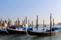 Gondolas in Venice, Italy Royalty Free Stock Photography